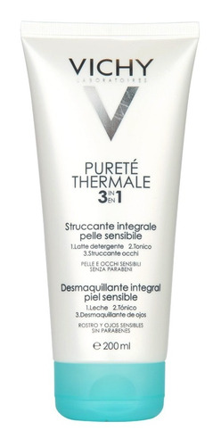 Vichy Purete Thermale Desmaquillante Integral 3 En 1 X 200ml