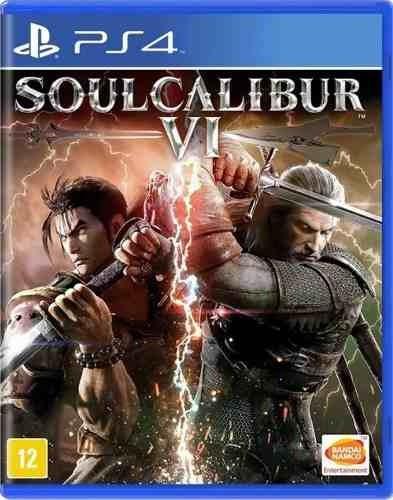 Soulcalibur Vi - Ps4 - Mídia Física - Usado