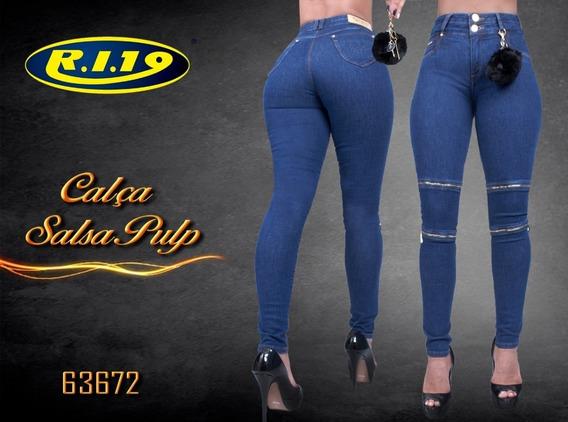 Calça Feminina Jeans Ri19 Lançamento!! Salsa Pulp 63672