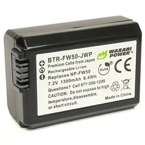 Batería Wasabi Power Para Son Np-fw50