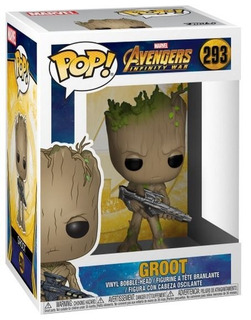 Funko Pop! Marvel - Groot - N°293 - Entrega Inmediata!!!