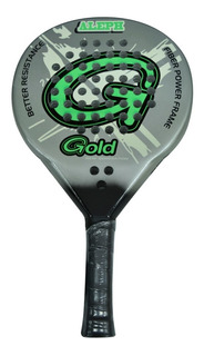 Paleta Paddle Gold Aleph 40mm Fibra De Vidrio / Carbono