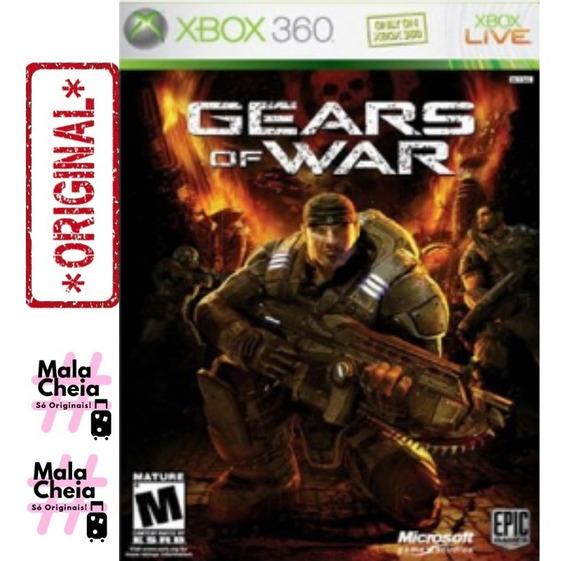 Gears Of War Xbox360 Original M. Física Direto Do Eua