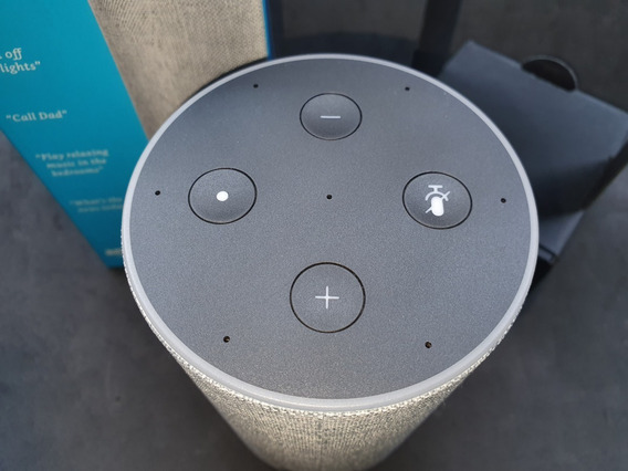 Amazon Echo 2nd Generation, Sandstone Fabric, Smart Speakers
