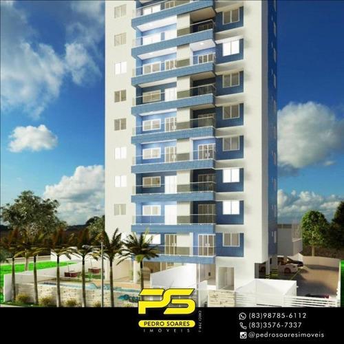 Apartamento Com 3 Dormitórios À Venda, 128 M² Por R$ 800.000 - Jardim Oceania - João Pessoa/pb - Ap4341
