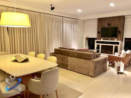Sobrado Com 4 Dormitórios À Venda, 400 M² Por R$ 1.600.000,00 - Parque Mirante Do Vale - Jacareí/sp - So0576
