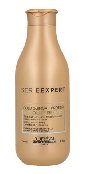 Acondicionador Se Absolut Repair Gold Quinoa 200 Ml Loréal