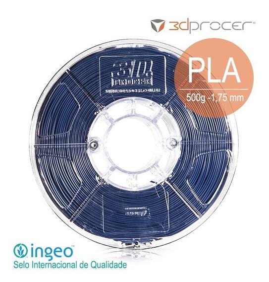 Filamento Pla 3d Procer 1,75mm 500g - 29 Cores Variadas