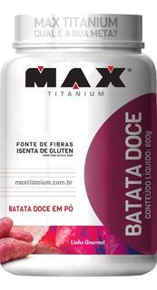 Batata Doce Em Pó - Max Titanium - 600g - Pura - Natural
