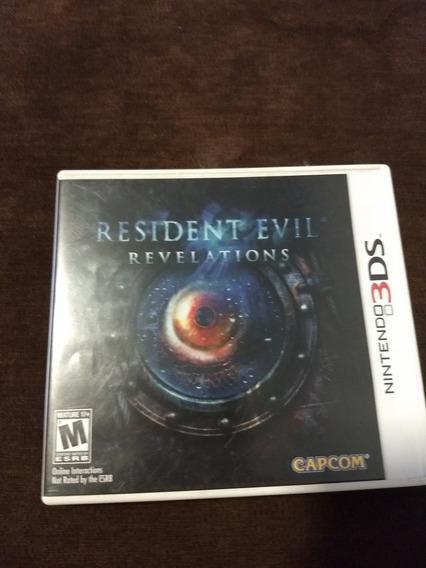 Jogo Resident Evil Revelation 3ds