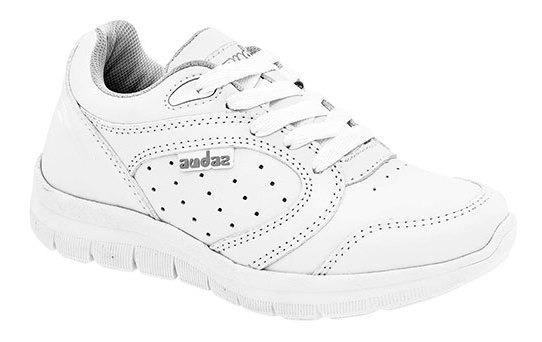 Audaz Sneaker Deportivo Escolar Blanco Sint Niño N60698 Udt