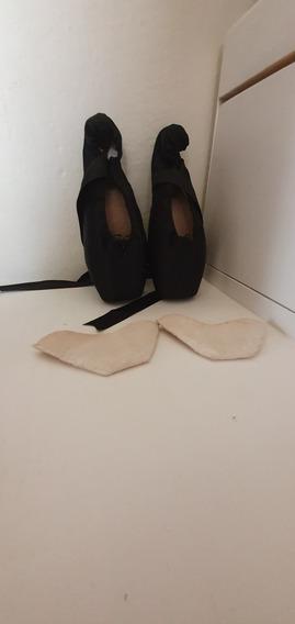 Puntas De Ballet Negras