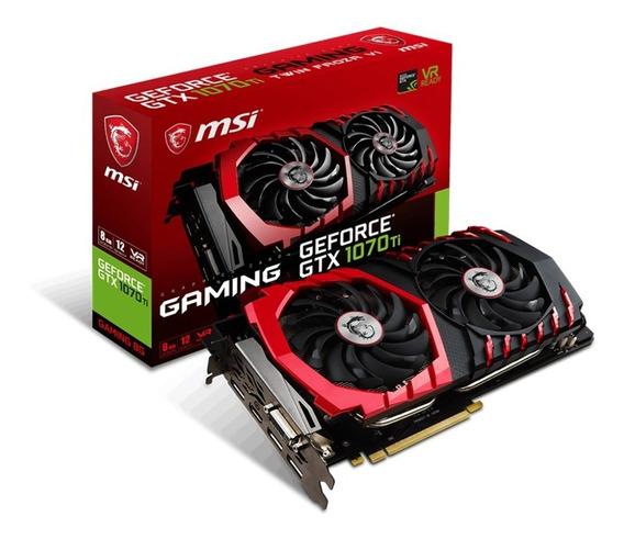 Msi Gtx 1070ti Placa De Video Gf Gaming X 8gb Gddr5 256bit