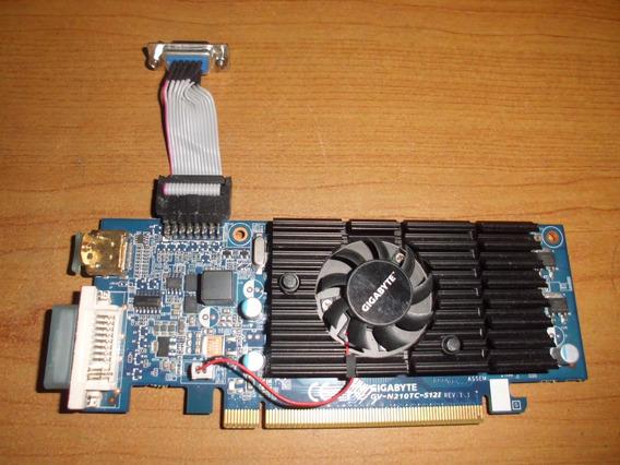 Tarjeta De Video Gigabyte Nvidea Geforce N210tc 512mb Ddr3
