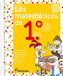 Los Matemáticos De 1.° - Santillana
