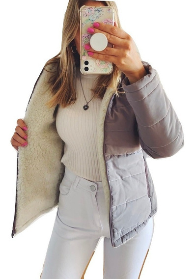 Campera Mujer Invierno Abrigada Inflable Pluma Importada Larga Camperon Talles Abrigo Dama