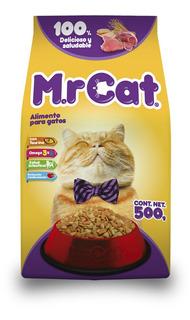 Mr. Cat. Alimento P/gatos Todas Las Razas Y Edades .500 Kg.