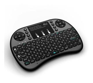 Mini Teclado Inalambrico Touchpad Raspberry Android Xbox