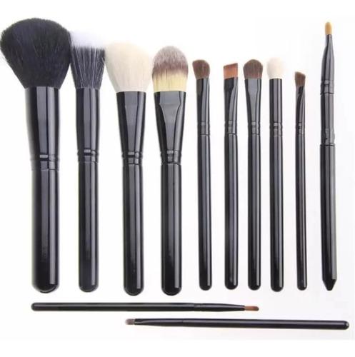 Maquillaje, Set 12 Brochas + Portavaso Calidad