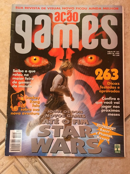 Revista Ação Games 141 Donkey Kong Country Star Wars F799