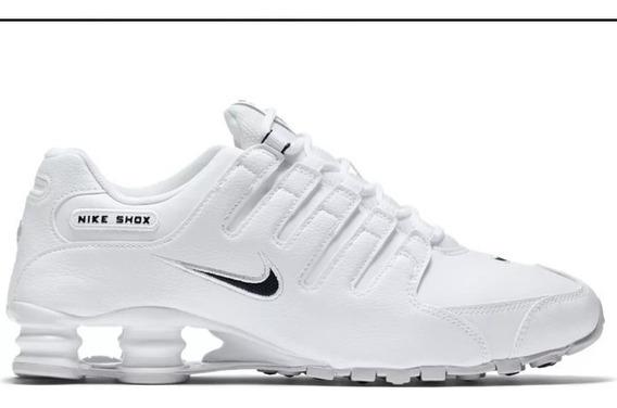 Nike Shox Blancas Hombre
