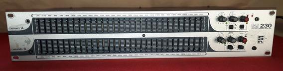 Equalizador Grafico Duplo Staner Ge230