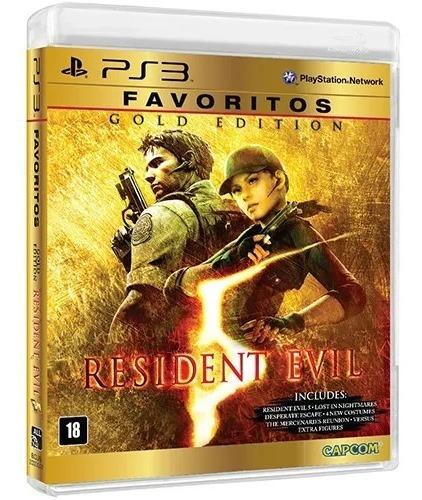 Resident Evil 5 Gold Edition Ps3 Mídia Física Usado