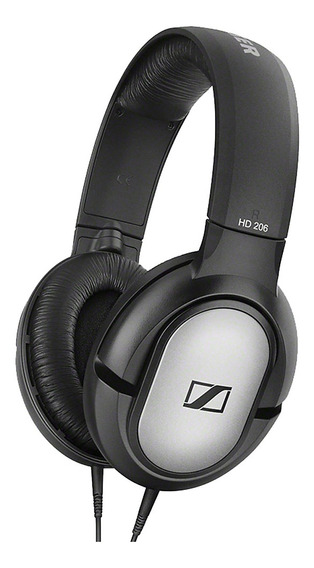 Sennheiser Hd206 Fone De Ouvido Para Jogos Microfone Hd De 3