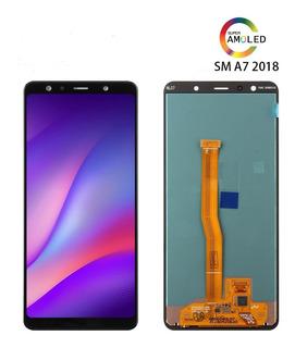 Tela Frontal Display Lcd A7 A750 2018 Samsung