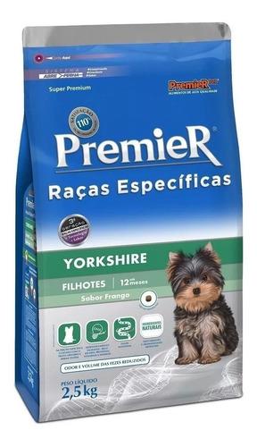 Ração Premier Raças Específicas Yorkshire 2,5kg Cães Filhote