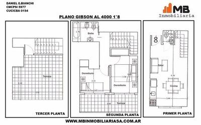 Boedo Venta En Pozo 3 Amb.c/terraza, Gibson Al 4000 1°8
