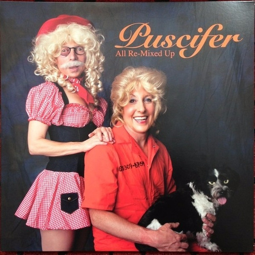 Vinilo Puscifer - All Re-mixed Up