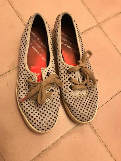 Zapatillas Alpargatas Acordonadas adidas