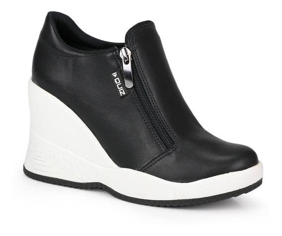 Tênis Sneaker Quiz Zíper