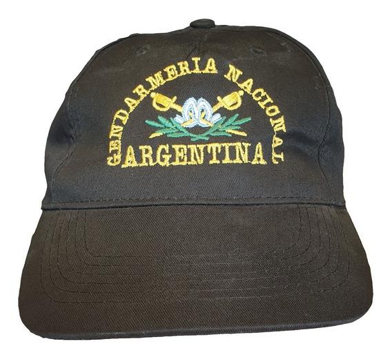 Gorra Tipo F1 Gendarmería Colores Verde Negro