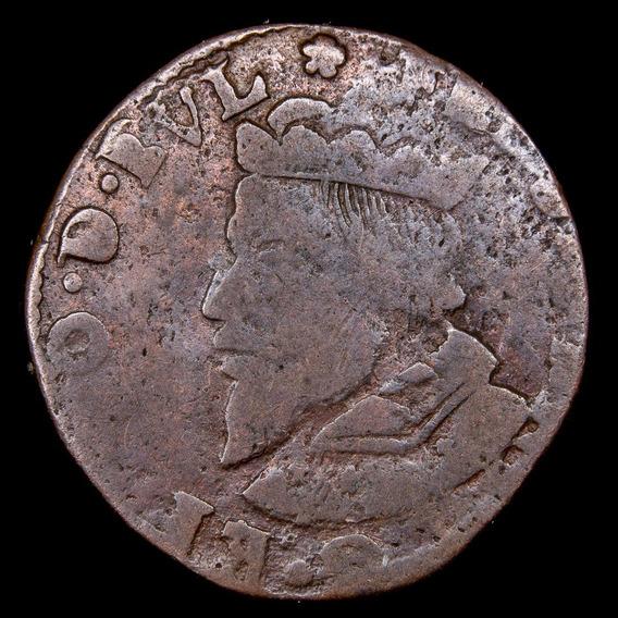 Ch C / Principado-ovispado De Lieja, 1 Liard Aidant 1612-50