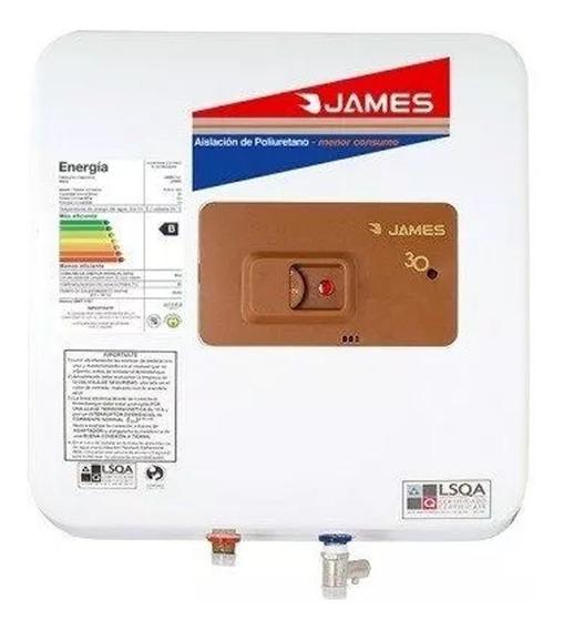 Calefon Termotanque James 30 L Cobre Prisma - Vía Confort