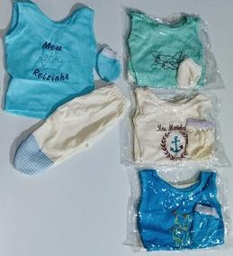 Promoção Kit 50 Conjuntos Bebe Pequeno Prematuro Menino (a)