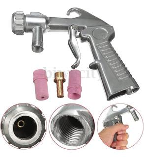 Pistola Profesional 8 Boq Sandblasting Sandblaster Sandblast