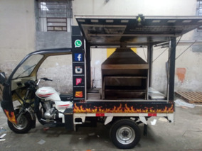 Food Truck Espetostriciclo Customizado