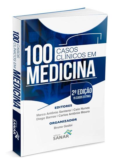 100 Casos Clínicos Em Medicina Esquematizados E Coment. 2ed.