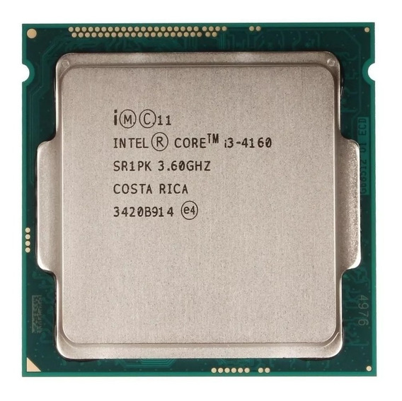 Core I3 4160 Lga 1150 3.60 Ghz 3mb