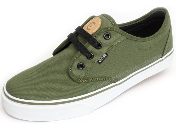 Tenis Skate Core Footwear Canvas Verde 164415