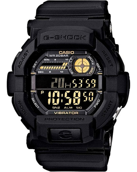 Relógio Casio G-shock Gd-350-1bdr Original + Nfe + Garantia