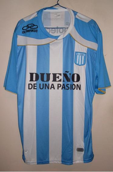 Camiseta De Racing Marca Olympikus, Talle L