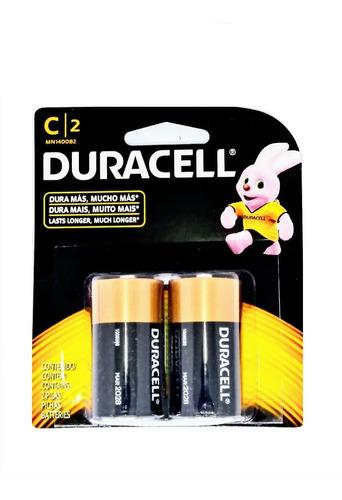 Pilas Duracell C  Caja X 16 Pilas