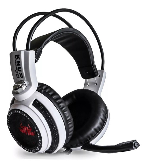 Headset Gamer 7.1 Usb P2 Com Fio Pc Ps4 Xbox One Knup Kp-400