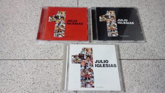 Lote Grandes Éxitos Julio Iglesias 3 Cd + 1 Dvd