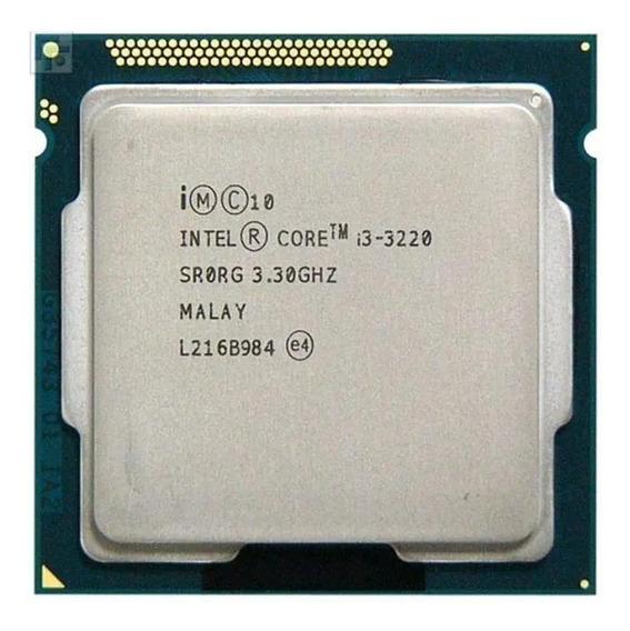 Processador gamer Intel Core i3-3220 CM8063701137502 de 2 núcleos e 3.3GHz de frequência com gráfica integrada