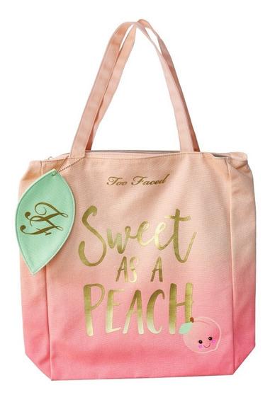 Sweet As A Peach Tote | Too Faced